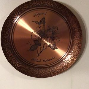 Fantasy solid copper wall hanging